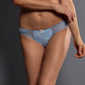 Rosa Faia by Anita - Powder blue, Fleur, chilot