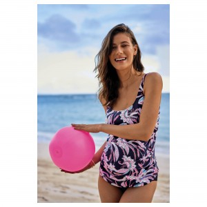ANITA MATERNITY - NIGHT-BLUE, HATUTU, COSTUM DE BAIE TANKINI PENTRU GRAVIDE