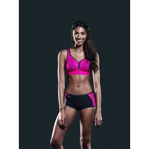 Anita Active - Pink/Anthracite, Firm support, chilot sport