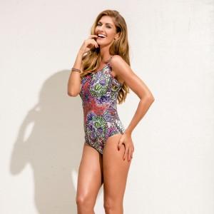 Anita Care - Woodrose, Wonderland, costum de baie pentru mastectomie dubla