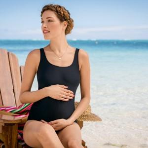 Anita Maternity - Negru, Rongui, costum de baie pentru gravide
