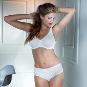 Rosa Faia by Anita - Alb, Twin Firm, sutien