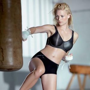 Anita Active - Negru, Momentum, sutien sport cu sarme