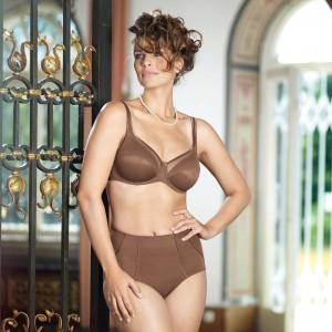 Anita Comfort - Deep Taupe, Clara, chilot corset
