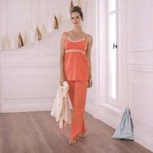 Anita Maternity - Coralle, 2 in 1 set pentru maternitate si pentru alaptare, cu pijama