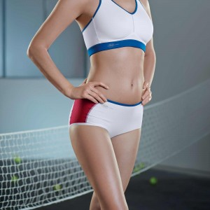 Anita Active - Alb, Firm support, chilot sport