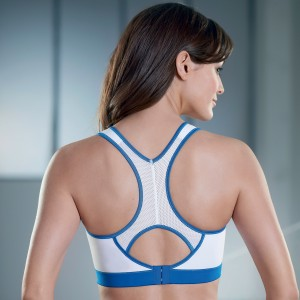 Anita Active - Alb, T-back power, sutien sport