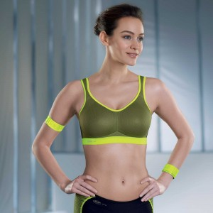 Anita Active - Lime, Air control, sutien sport
