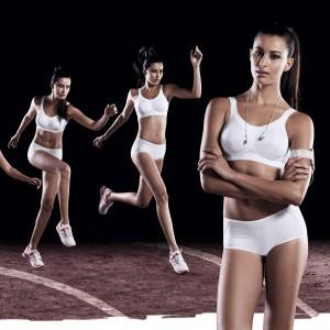 Anita Active - Alb, Momentum, sutien sport
