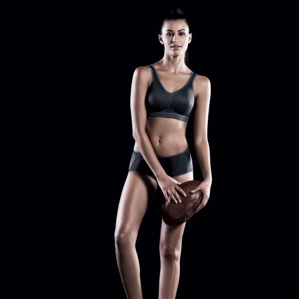 Anita Active - Antracit, Light&Firm, sutien sport