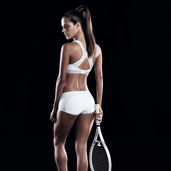 Anita Active - Alb-argintiu, Dynamix Star Maximum Support, sutien sport