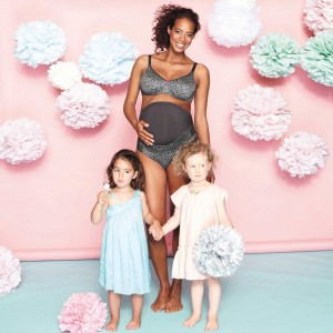 Anita Maternity - Antracit, Paisley, burtiera prenatala
