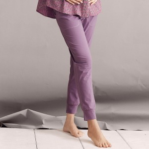 Anita Maternity - Light Grape, pantalon lung de noapte